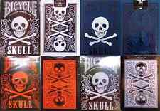 Bicycle Skull Playing Cards 4 Deck Set - Limited Edition - SEALED