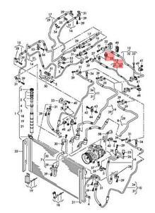 Genuine Pressure Sensor AUDI Q7 4L 4L0959126