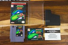 Teenage Mutant Ninja Turtles: Tournament Fighters NES CIB Complete Box Manual G+