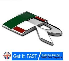 For Jaguar R Metal Chrome Badge Emblem Logo Sticker XE XF XJ FType XType S-Type