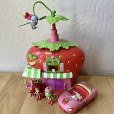 Strawberry Shortcake Twirly Bird Berry Cafe Doll House Car Bed Acc.2 Mini Dolls