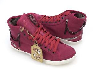 DIESEL WOMAN SNEAKER SHOES CASUAL FREE TIME SUEDE CODE YORE W 00YF09 PS153 T4054