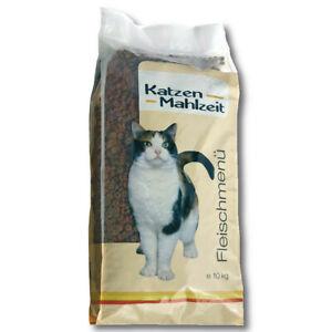 Katzenmahlzeit Fleischmenü 10 kg Katzenfutter Trockenfutter Vollwertig Lecker
