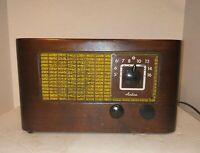 "Vintage ""Tested Working"" 1946/47 Wards Airline Radio Model No. 64WG-1801C"