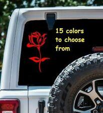 8 Sizes Rose Car Window Decal Sticker Macbook Laptop Tablet sticker 6 year