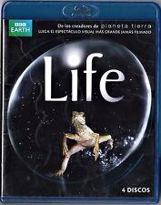 LIFE, serie documental completa BBC. 4 BLU-RAY Tarifa plana de envío España: 5 €