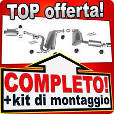 Scarico Completo ALFA ROMEO e SPIDER 1.8 2.0+Silenziatore Anteriore Marmitta X15