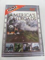 America's Railroads - The Steam Train Legacy 3 DVD Box Set Railroading Trains