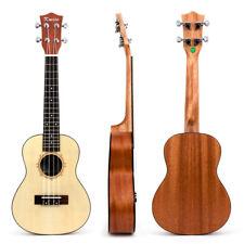 Kmise Professional 23 Inch Concert Ukulele Ukelele Hawaii Guitar for Beginners