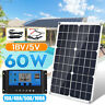 60W Flexible Solar Panel or 100A 12V 24V Controller Car Charger Farmer Car Boat