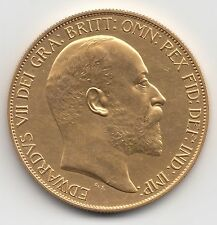 More details for rare 1902 king edward vii matt proof gold five pound £5 coin