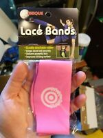 af9487995e7 Unique Sports Soccer Shoe Lace Cover Bands Pair 2 Pack Neon Pink or Green