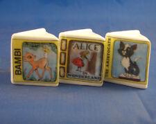 Birchcroft Thimbles -- Miniature Book Style  -- 3  Disney Classic ( Make Offer )