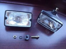 Peugeot 205 GTI driving lights lamps NEW CLEAR - Single bolt same as OE fitment