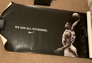 Lebron James NIKE We Are All Witnesses Witness Poster Promo Cavaliers 23 Banner