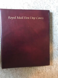 Royal Mail First Day Cover Album With 15 Sleeves