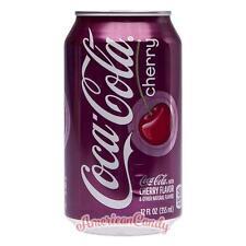 24x 355ml Coca Cola Cherry Original USA Import Softdrink (3,40€/l)