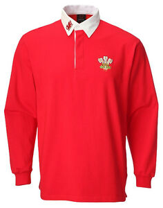 New Cymru Wales Welsh Rugby Shirt Top Baby Kids Childrens 3 Months To 3 Years