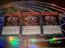 3x D/D Orthros 1st Edition Super Rare SDPD-EN004 Yu-Gi-Oh!