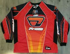 Proto Paintball Jersey Mens Sz L Padded Vented Long Sleeve Shirt Red New NWT