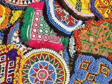 Vintage Kuchi Afghan Gypsy Banjara Tribal Beaded Medallions 10X Lot Extra Large