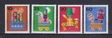 Berlin 1971 postfrisch MiNr.  412-415  Wohlfahrtsmarken  Kinderspielzeug