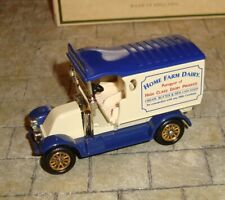 LLEDO - DAYS GONE PROMOTIONAL - 1912 RENAULT VAN - HOME FARM DAIRY - BOXED