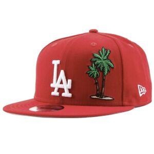 New Era Los Angeles LA Dodgers Palm Tree Taco Tuesday Snapback Hat  Red NWT