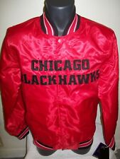 CHICAGO BLACKHAWKS NHL STARTER Jacket Sping/Summer Edition RED  SMALL