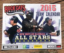 2015 NEW BRITAIN ROCKCATS RED SOX Calendar Rock Cats Ortiz Morneau Cuddyer Mauer