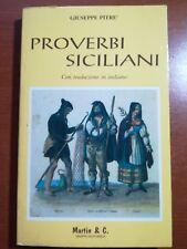 Proverbi siciliani - Giuseppe Pitrè - Martin & C. - 1991 - M
