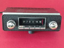 Vintage Style AM FM iPod Car Radio Classic Adjustable Shaft Knobs Bluetooth USB