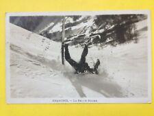 cpa CHAMONIX MONT BLANC (Haute Savoie) SKI La BELLE BUCHE d'un Skieur