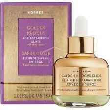 KORRES GOLDEN KROCUS Saffron Anti Ageing Elixir of Youth 30ml  TRACKING SHIP.