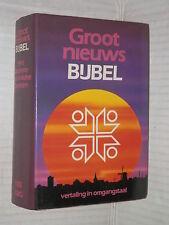 GROOT NIEUWS BIJBEL Sacra Bibbia olandese Today s Dutch Version 1989 biblica