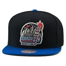 "Mitchell & Ness NBA All Star Game 1998 ""New York"" Snapback Hat Black/Royal"