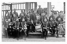 pt4998 - Bridlington , New Spa Imperial Viennese Band , Yorkshire - photo 6x4