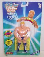 "New! 1996 Just Toys Bendems Series #4 ""Sycho Sid"" Action Figure WWF {386}"