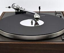 Classic Matt Black & Mirror Acrylic Platter Mat. Fits PIONEER Turntables!