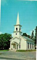 Vintage Postcard - Classic White Congregational Church Andover Maine ME #2749