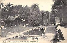 BF6023 lyon un coin du parc de la tete d or france    France