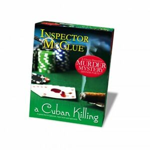Inspector McClue A Cuban Killing Murder Mystery Dinner Party Game NEW, SEALED