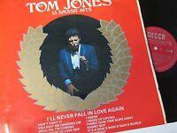 Tom Jones-13 Smash Hits-DECCA-LK4909-Vinyl-Lp-Record-Album-1960s