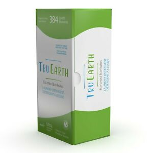 Tru Earth Eco-Strips Laundry Detergent (Fragrance Free - 384 Loads)