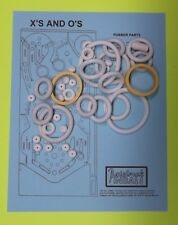 1984 Bally / Midway X's & O's pinball rubber ring kit
