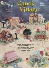 Candy Village, The Needlecraft Shop Plastic Canvas Pattern Booklet 953314 RARE