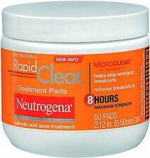 Neutrogena Rapid Clear Treatment Pads w/ Salicylic Acid 60ct***