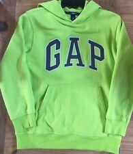 GAP GREEN Sweatshirt Hoodie Gray Letters Pullover EUC Size XL 12