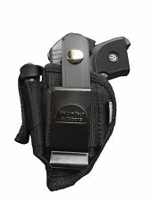 Belt & Clip holster With Extra-Magazine Pouch For Belgium Baby Browning 25 ACP