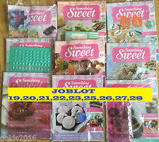 Deagostini Something Sweet Magazines JOBLOT 19,20,21,22,23,25,26,27,28
